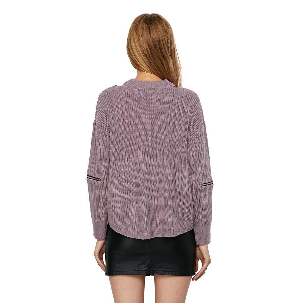 52f3a0f43b3f Αγορά Πλεκτά | Gamiss Winter Spring Women Sweaters Pullovers Casual ...