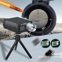 E9800 X airsoft bb tiro velocidade tester temporizador de tiro de alta precisão 10c a 50c tela lcd 0 500j queima energia cinética|Instrumentos de medição de velocidade| |  -