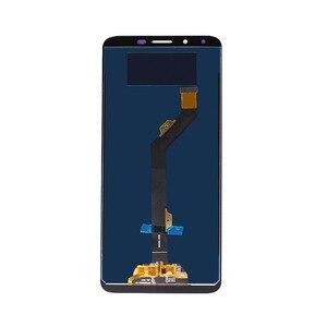 Image 3 - Für infinix Heißer 6 X606 LCD mit Touch Display für infinix Heißer 6 Bildschirm mit Digitizer Reparatur 6,0 zoll 100% test Kostenloser Versand