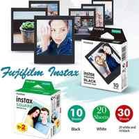 10-30 blätter Fujifilm Instax Mini Platz Film Weiß/Schwarz Rand Foto Papier Für Instax Kamera SQ10 SQ6 SQ20 Teilen SP-3 Drucker