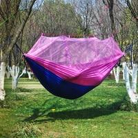 Camping Mosquito Net Nylon Hammock Outdoor Hanging Bed Sleeping Swing