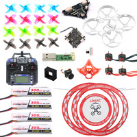 DIY Mobula 7 V3 FPV Drone with Crazybee F4 PRO FC V3 Frame Transmitte SE0802 Motor Turbo Eos2 Camera VTX Arch Apron for Mobula7