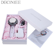 Deciniee 3 in 1 EMS Infrared Ultrasonic Body Massager Device Ultrasound Slimming Fat Burner Cavitation Face Beauty Machine free shipping 3 in 1 ultrasonic infrared ems body massage tens muscle slimming device skin beautifying spa machine skin care