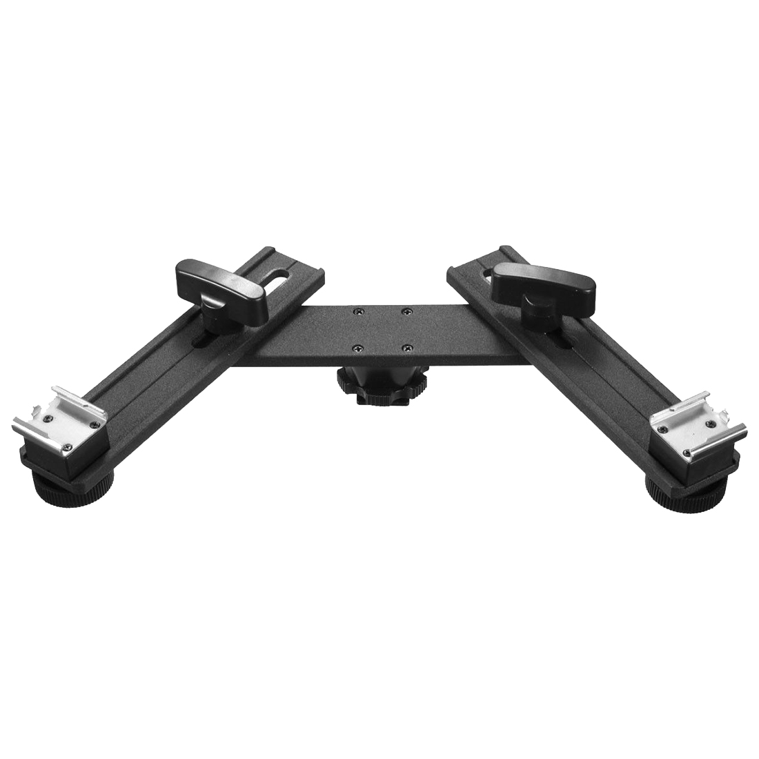 13 inch Twin Speed Light Flash Hot Shoe Mounting Bracket Mount Holder Studio13 inch Twin Speed Light Flash Hot Shoe Mounting Bracket Mount Holder Studio