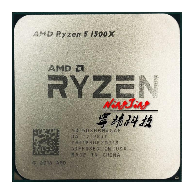 AMD Ryzen 5 1500X R5 1500X 3 5 GHz Quad Core Eight Core CPU Processor L3
