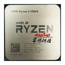 AMD Ryzen 5 1500X R5 1500X3.5 GHz czterordzeniowy ośmiordzeniowy procesor cpu L3 = 16M 65W YD150XBBM4GAE gniazdo AM4