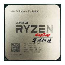 AMD Ryzen 5 1500X R5 1500X3.5 GHz رباعية النواة ثماني النواة معالج وحدة المعالجة المركزية L3 = 16 متر 65 واط yd150xbbm4gie المقبس AM4