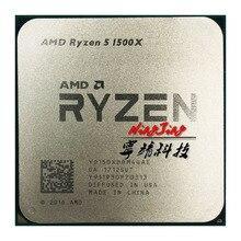 Processador amd ryzen 5 1500x r5, cpu de computador l3 = 16m, núcleo quad core com oito núcleos de 3.5 ghz soquete am4 de 65w