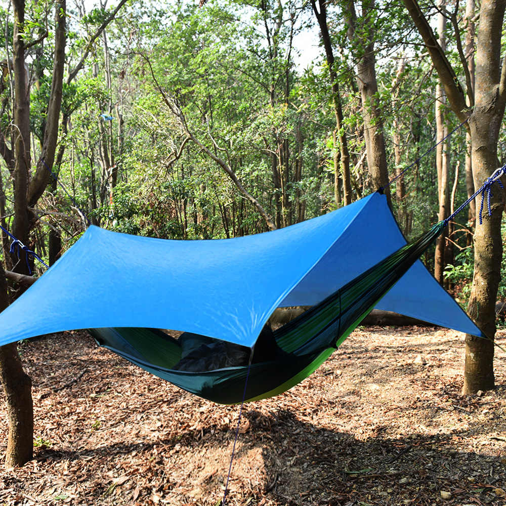 9.8ft x 9.8ft легкий гамак солнце приют палатка от солнца брезентовый навес для наружной походная Пикник