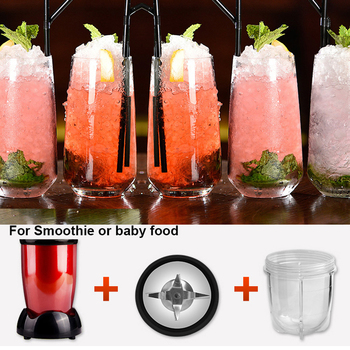 US plug MINI Portable Electric juicer Blender Baby Food Milkshake Mixer Meat Grinder Multifunction Fruit Juice Maker Machine 4