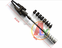upgrade type diesel fuel common rail injector dismounting puller tool for all brands injectors with slider hammer