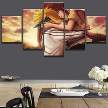 Framed 5 Piece HD Print Minato And Kushina Naruto Painting Canvas Wall Art Picture Home Decoration Living Room