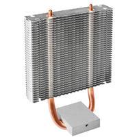 HB 802 Double HDT caloduc Double 8 CM ventilateur Extension métal radiateur refroidisseur Circuit imprimé refroidissement aileron pour pont nord|Ventilateurs et refroidissement| |  -