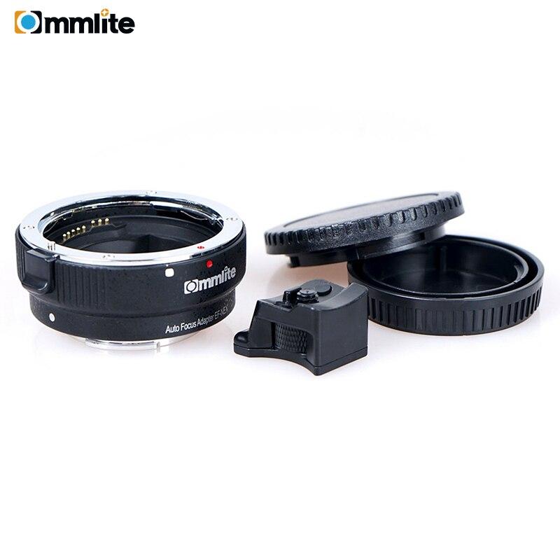 Image 5 - Commlite CM EF NEX adaptador de montagem de lente de foco  automático para lente canon ef para usar para câmeras de montagem sony  nexAdaptador de lente