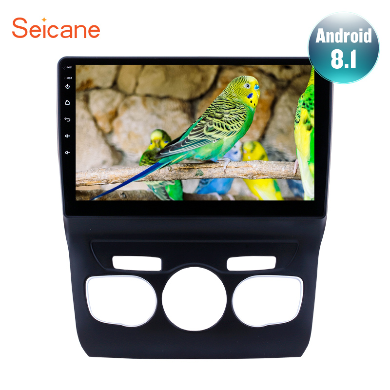 Seicane 10 1 inch HD Touchscreen Android 7 1 8 1 GPS Navigation System Bluetooth Car