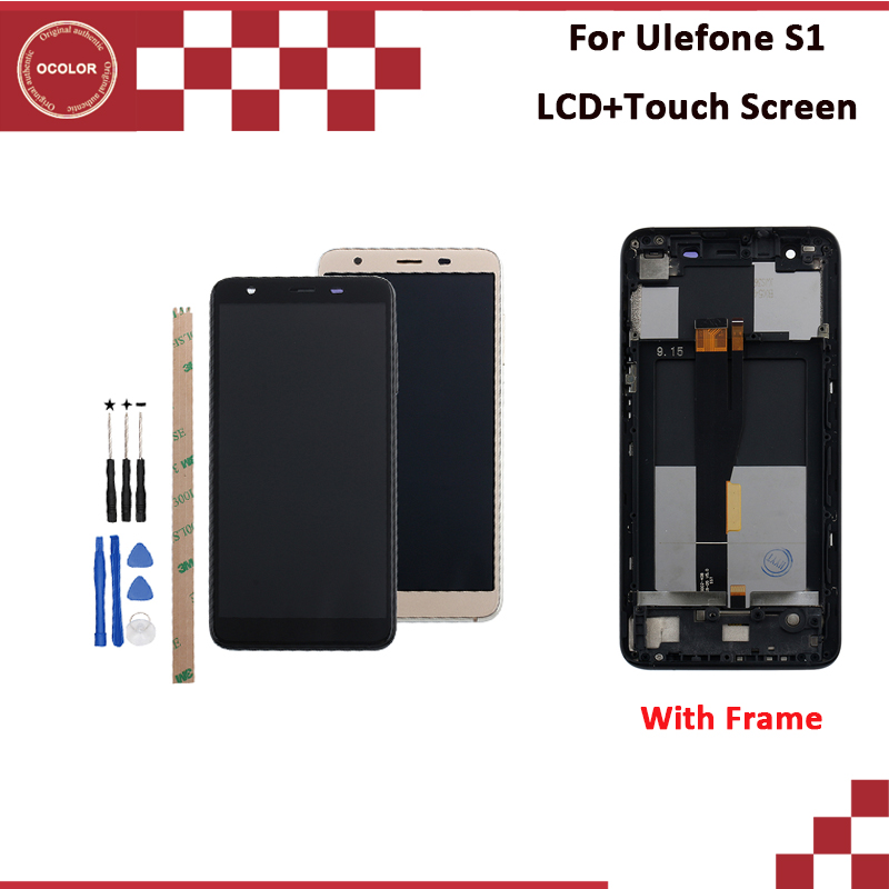ocolor For Ulefone S1 LCD Display And Touch Screen 5.5'' With Frame   For Ulefone S1 Pro LCD Screen With Tools And Adhesive-in Mobile Phone LCD Screens from Cellphones & Telecommunications on AliExpress - 11.11_Double 11_Singles' Day 1