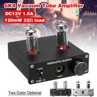 Hifi 6k4 Vacuum Tube Amplifier Stereo Tube Preamplifier With Treble Bass Tone Control Amplifiers Amplifier Audio Amplifier