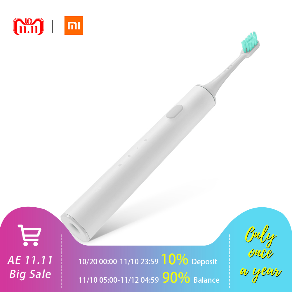 все цены на Xiaomi Mi Home Rechargeable Waterproof Sonic Electric Toothbrush APP Control With Dupont Bristles