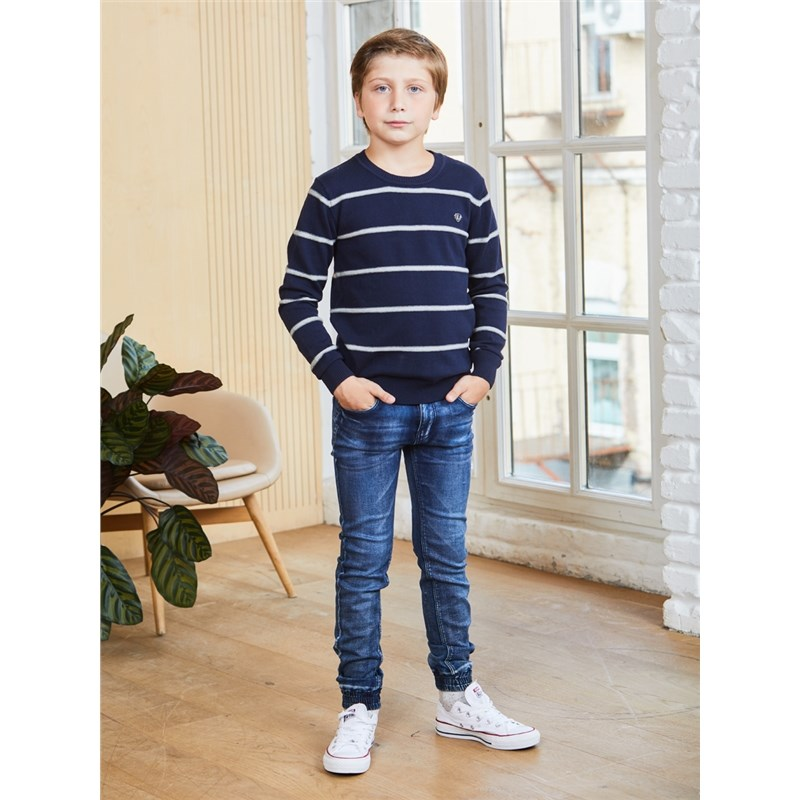 Jeans Sweet Berry Denim pants for boys children clothing kid clothes bleached ripped pockets denim pants