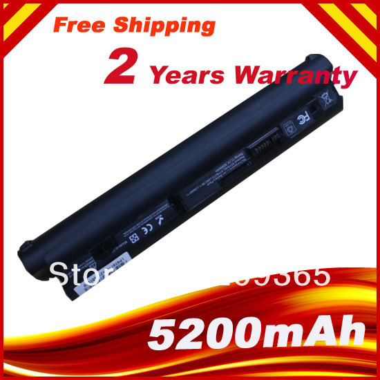 Black 6Cells Laptop Battery For Lenovo IdeaPad S10-2 S10-2c S10-3c 55Y2098 57Y6273 L09C3B11 L09C6Y11 L09M3B11