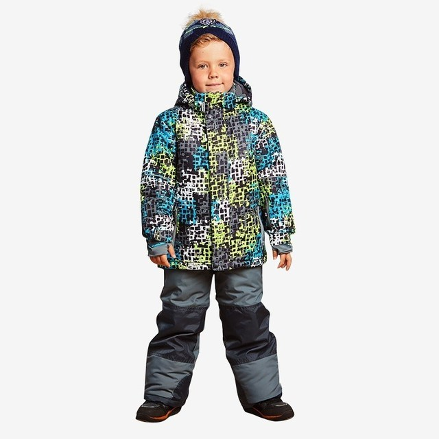 Комплект швейный Sweet Berry для мальчиков: куртка, полукомбинезон