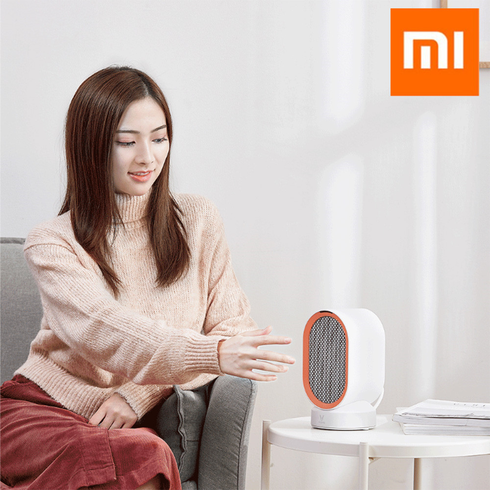 Xiaomi VIOMI Portable Touch Control Wide-angle Ceramic Heat Desktop Small Heater Air Warmer Mini Ceramic Fan Heater for OfficeXiaomi VIOMI Portable Touch Control Wide-angle Ceramic Heat Desktop Small Heater Air Warmer Mini Ceramic Fan Heater for Office