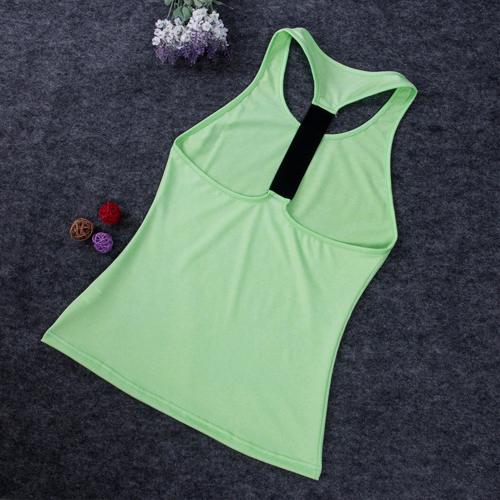 Yoga Fitness Sleeveless Shirt