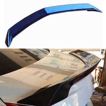 Real Carbon Fiber Kofferbak Spoiler Vleugel V Look Kofferdeksel Spoiler Wing Lip Vleugel Deksel Spoiler voor Cadillac ATS sedan 2013-2017