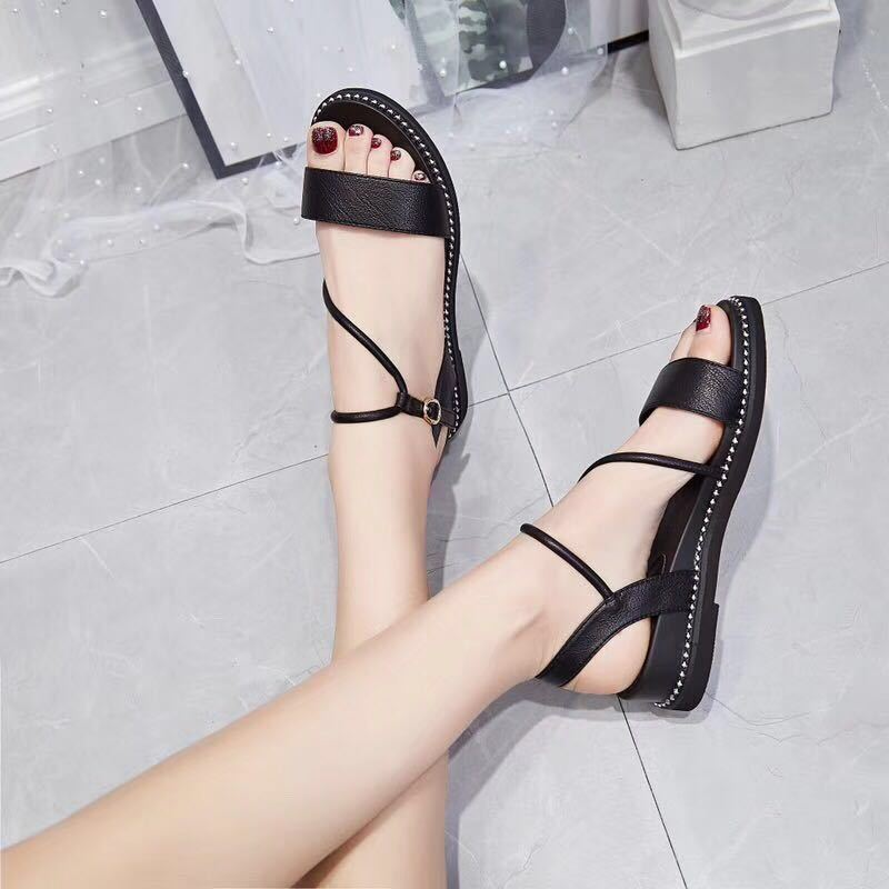2019 With Sandals Flat Bottom Rome Leisure Womens Shoes2019 With Sandals Flat Bottom Rome Leisure Womens Shoes