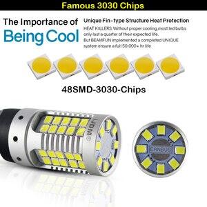 Image 4 - IJDM CANbus 1157 LEDไม่มีแฟลชHyper Flash 21W AmberสีเหลืองP21/5W BAY15dหลอดไฟLEDสำหรับไฟเลี้ยวไฟสัญญาณDRLเบรค/หางLigที่จอดรถ