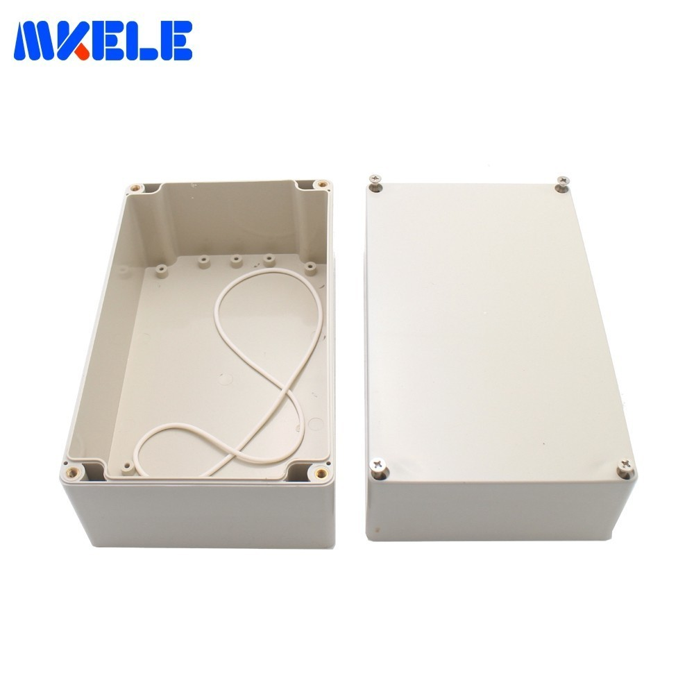 ABS Plastic Enclosure Waterproof Junction Box Instrument Case Ip65 Electrical Boxes Outdoor For Electronics Electro Project