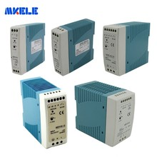 Industrial Power Din Rail Power Supply 12/24V Ac Dc Switching Power Supply 10W 20W 40W 60W 100W With For Led Driver Ce Approv