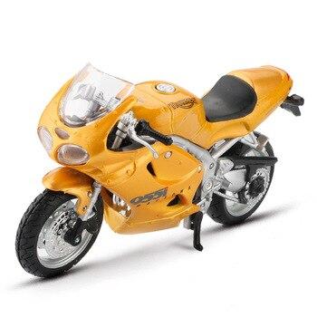 Maisto 1:18, aleación de modelo de motocicleta, coche de carreras, motocicletas todoterreno, Motor Daytona, modelos de bicicleta, coches, juguetes para niños