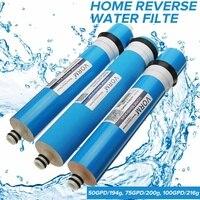 Домашняя кухня обратного осмоса RO мембрана Сменный фильтр для воды системы бытовой очистки воды фильтрации 50/75/100/125GPD