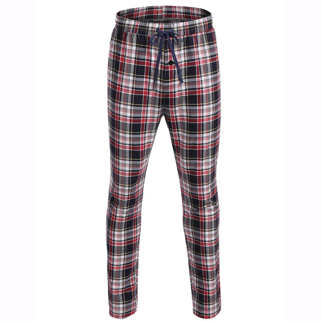 9dcc440e215 Buy mens plaid red pants and get free shipping on AliExpress.com