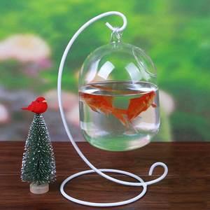 Mrosaa Glass Hanging Aquarium