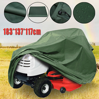 183*137*117cm Large Green Waterproof Polyester Tractor Grill Protection Cover For Garden Yard Mower Lawn Tools Tractor Cover