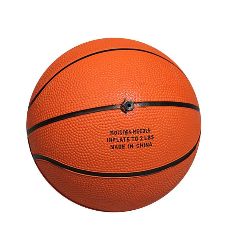 1pc Rubber Basketball Training Ball 13cm High Quality Outdoor Indoor For Baby Children Basketball Training Equipment Accessories