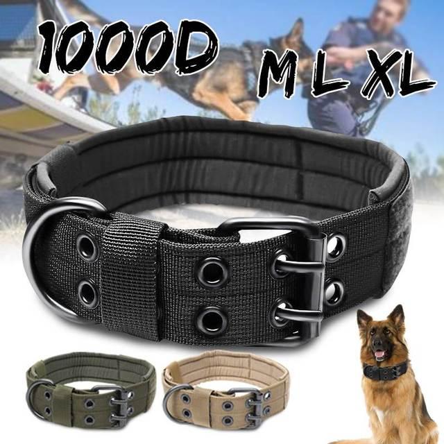 1000D M/L/XL di Nylon Tattica di Collare di Cane Imbracature Porta Regolabile Mi