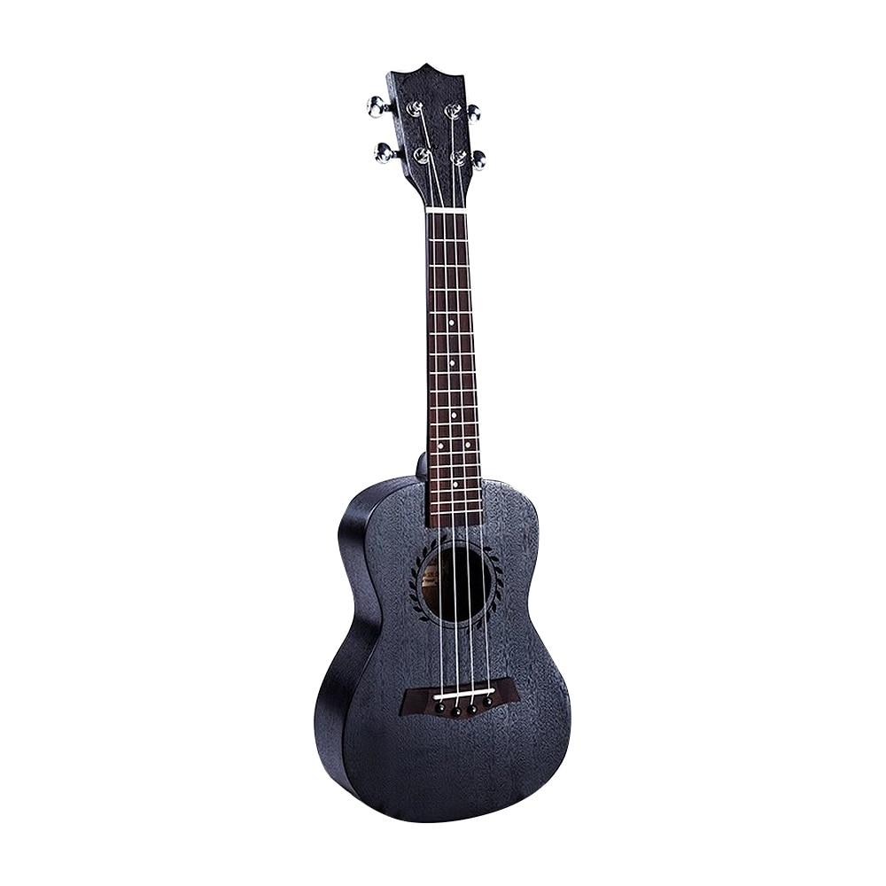 Portable Fashion Concert 23 Inch Mahogany Soprano Ukulele Guitar Sapele 4 Strings Hawaiian Guitar Musical Instruments