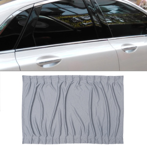 Image 2 - 2 個 70 センチメートル車カーテン窓カバーセット格納式自動カーテン窓ローラー日よけブラインドブロックプロテクターカーテン
