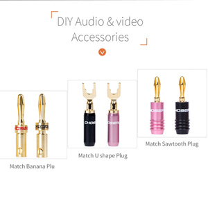 Image 5 - CHOSEAL DIY HIFI Audio Cable Oxygen Free Pure Copper Speaker Cable for Car Audio Home Theater Speaker Wire Soft Touch Cable