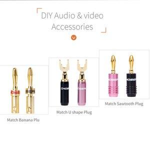 Image 5 - CHOSEAL DIY kabel Audio HIFI beztlenowy czysty miedziany kabel głośnikowy do samochodowy sprzęt Audio głośnik do kina domowego drut miękki w dotyku