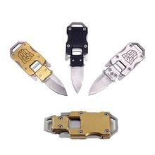 Карманный нож для чистки, нож для пилинга, нож для самостоятельного боя с буквами, портативный нож для защиты, многофункциональная открытая упаковка, пилинг, бушкрафт