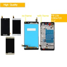 10Pcs/lot For HUAWEI P8 Lite Lcd Display Touch Screen Digiziter LCD Assembly With Frame ALE-L04 ALE-L21 ALE-TL00 ALE-L23