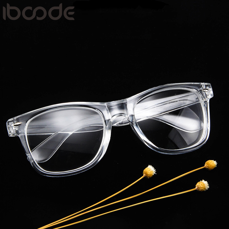 Iboode Fashion Glasses Women Retro Vintage Reading Myopia Eyeglasses Frame Men Square Glasses Optical Clear Eyewear Oculos Gafas