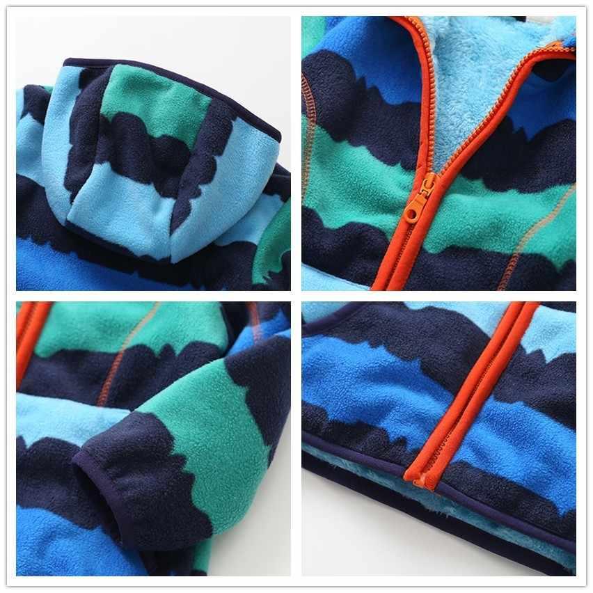 ZJHT 春ソフトシェルフリースジャケット少年少女のための服漫画厚い子供のアウターウェアベビーウインドブレーカー子供コート MY015
