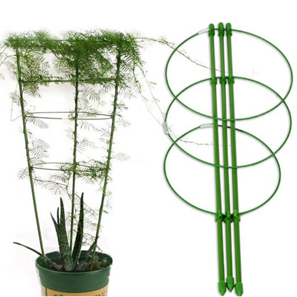 Durable Creative Vine Climbing Rack 45cm Flower Decorative Gardening Tools Vegetables Plant Trellis Plant Support Frame