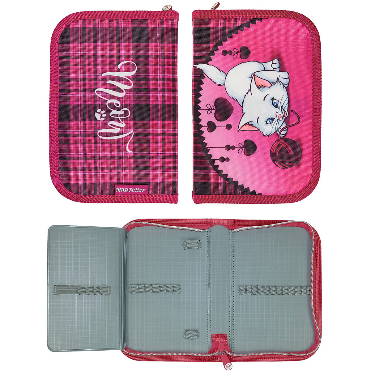 Pencil Cases MAGTALLER 11154900 school supplies stationery pencil cases for girls and boys drawing MTpromo angibabe office and school stationery pencil sharpener pink