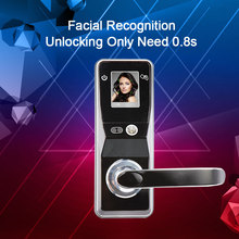 Eseye Electronic Door Lock Face Recognition Smart Lock Door Security Card Touch Screen Keyless Home Electronic Smart Door Lock все цены